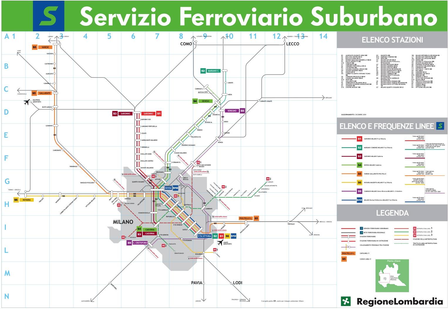 21 cicloraduno fiab laghi ville e valli varesine - Milano porta garibaldi passante mappa ...